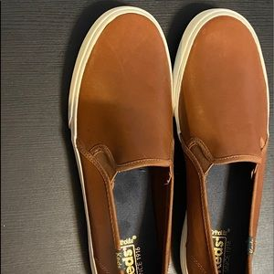 Ked's Ortholite Women's Slip-On in Cognac